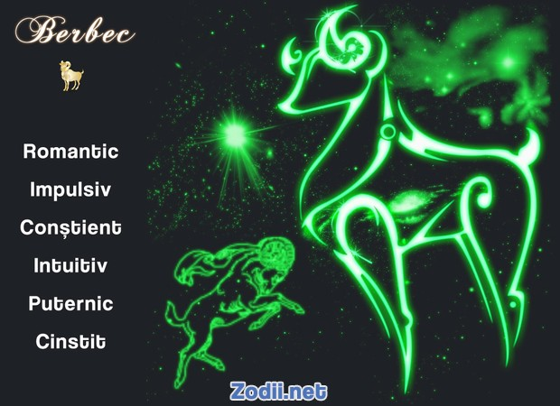 Calitatile zodiei Berbec
