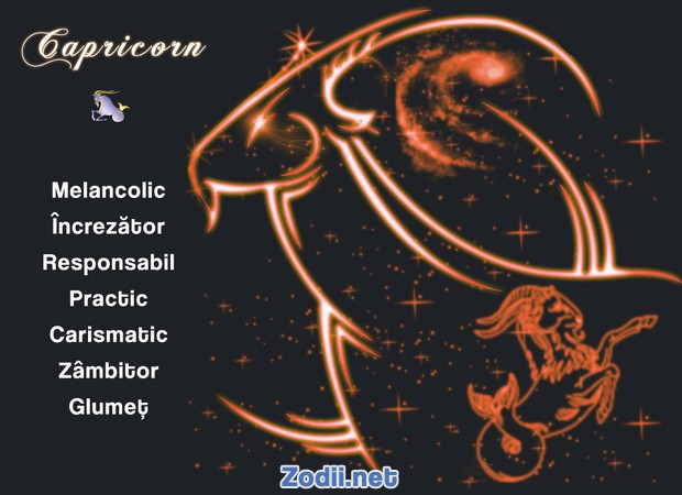 Calitatile zodiei Capricorn