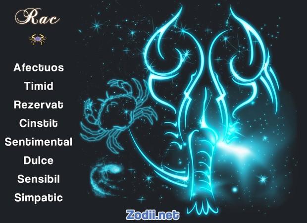 Calitatile zodiei Rac