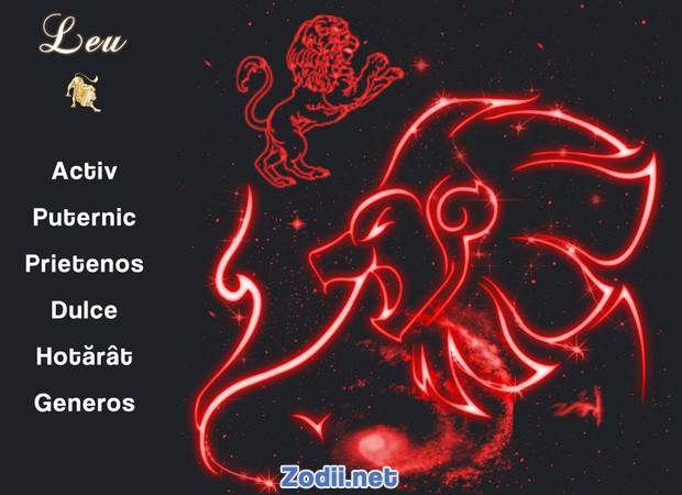 Calitatile zodiei Leu