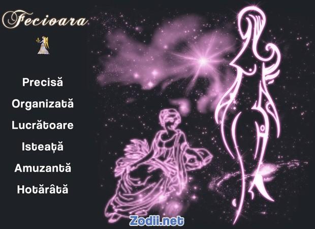 Calitatile zodiei Fecioara