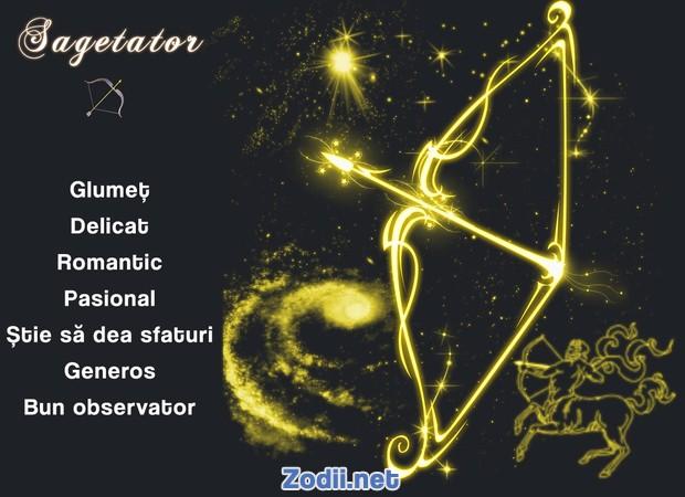 Calitatile zodiei Sagetator